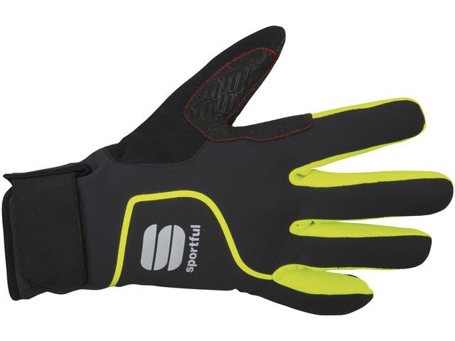Sportful Sotto Zero Gloves black/yellow fluo
